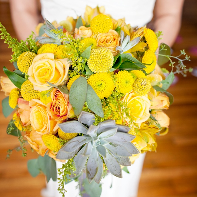 YellowWeddingBouquet